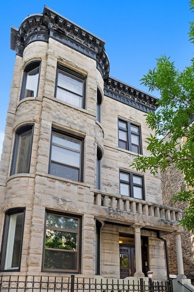 Real Estate Photography - 4008 N Clarendon, Chicago, IL, 60613 - Front View