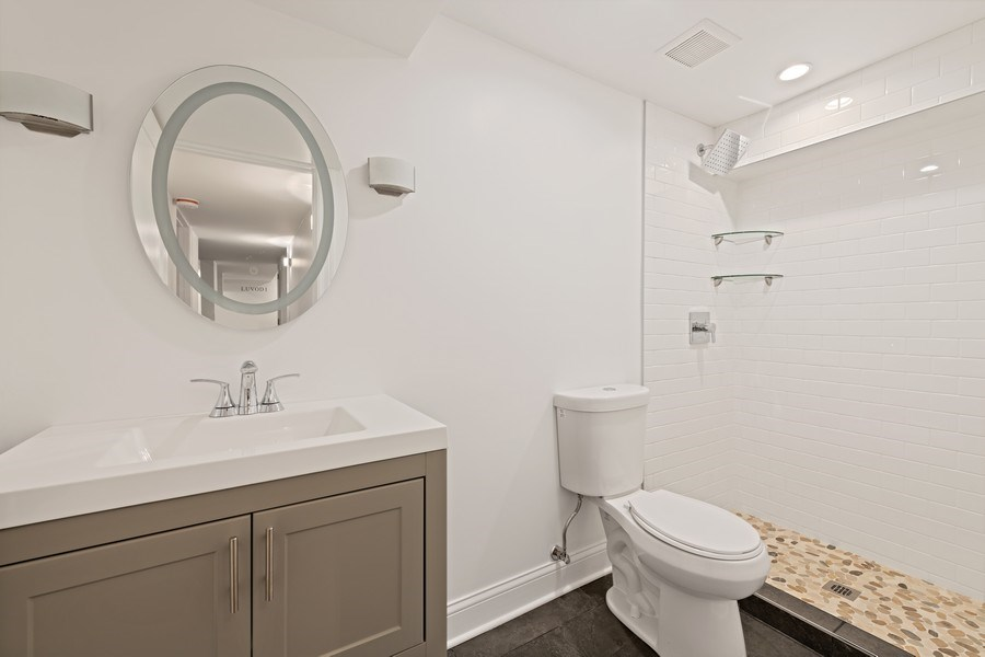 Real Estate Photography - 4008 N Clarendon, Chicago, IL, 60613 - 3rd Bathroom