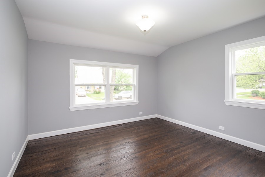 Real Estate Photography - 1133 Lancaster, Elk Grove Village, IL, 60007 - 2nd Bedroom