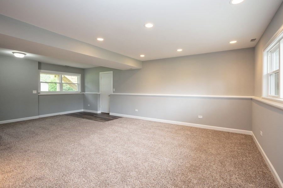Real Estate Photography - 1133 Lancaster, Elk Grove Village, IL, 60007 - Family Room