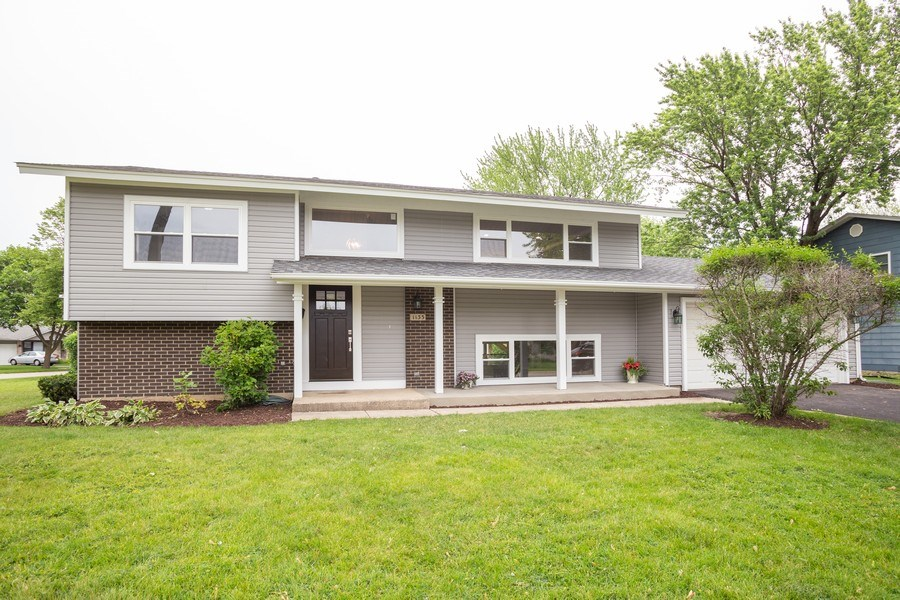 Real Estate Photography - 1133 Lancaster, Elk Grove Village, IL, 60007 - Front View