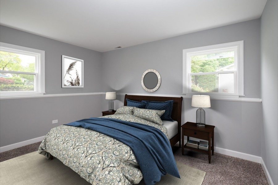 Real Estate Photography - 1133 Lancaster, Elk Grove Village, IL, 60007 - 4th Bedroom