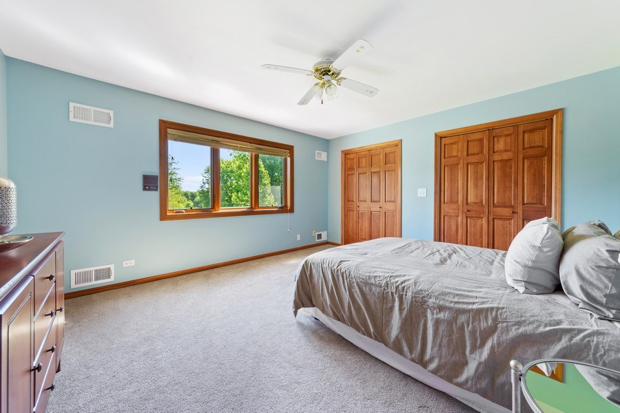 Real Estate Photography - 195 Mooregate Trail, Hawthorn Woods, IL, 60047 - 3rd Bedroom