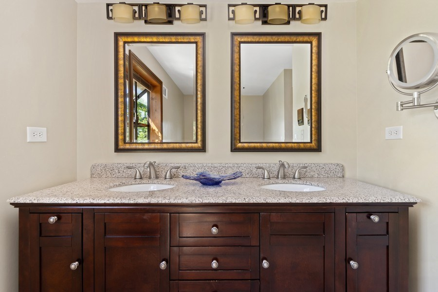 Real Estate Photography - 195 Mooregate Trail, Hawthorn Woods, IL, 60047 - Master Bathroom