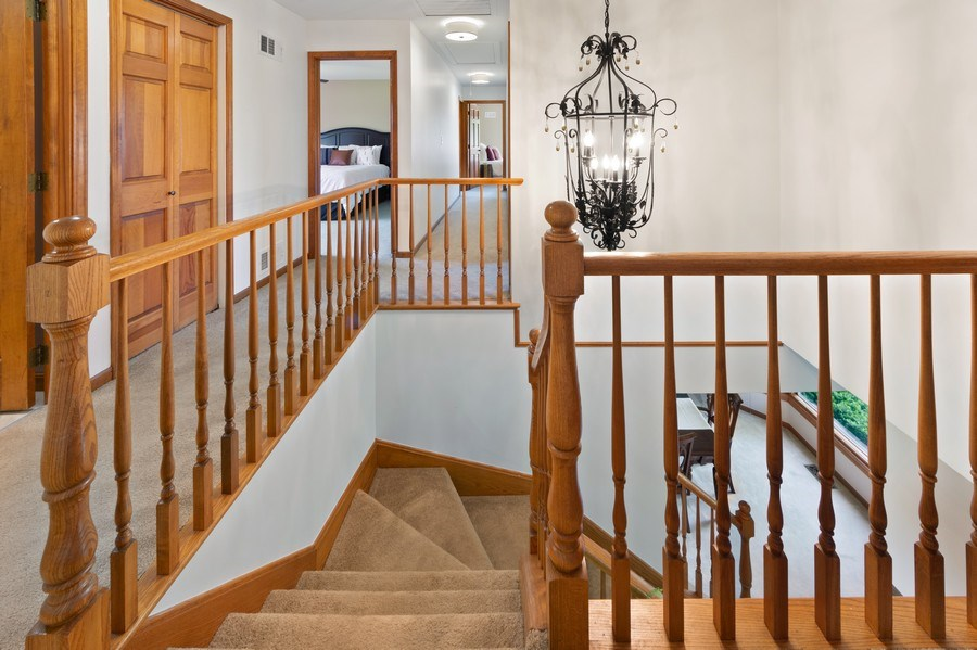 Real Estate Photography - 195 Mooregate Trail, Hawthorn Woods, IL, 60047 - Staircase