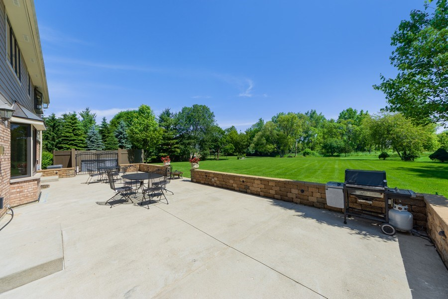 Real Estate Photography - 195 Mooregate Trail, Hawthorn Woods, IL, 60047 - Patio