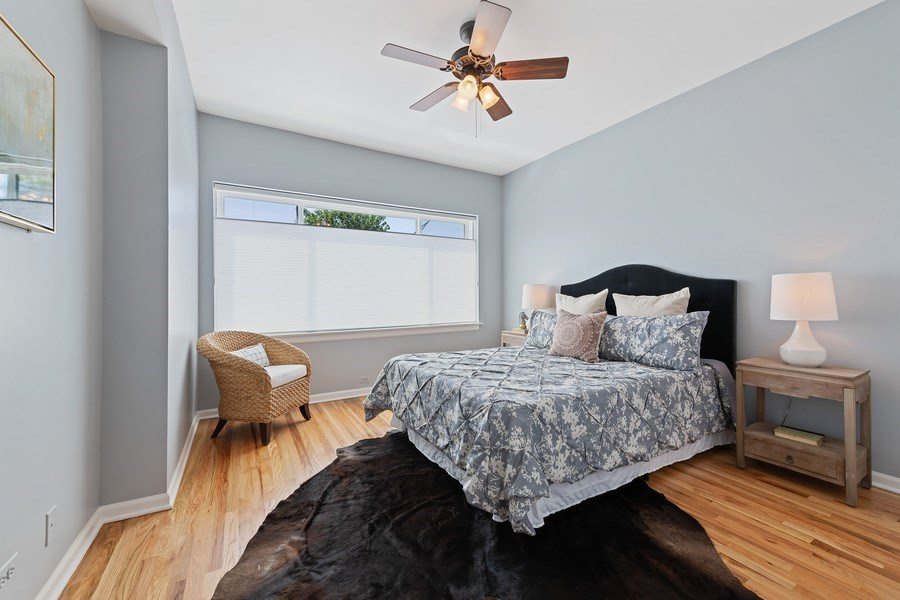 Real Estate Photography - 4747 N. Artesian Ave., Unit 1N, Chicago, IL, 60625 - Master Bedroom