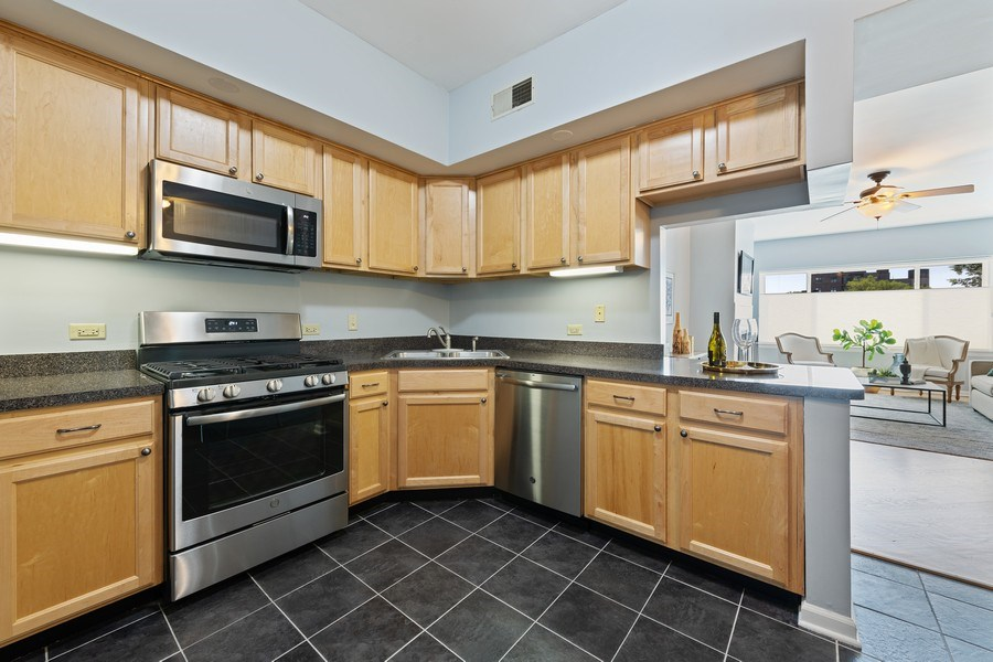 Real Estate Photography - 4747 N. Artesian Ave., Unit 1N, Chicago, IL, 60625 - Kitchen