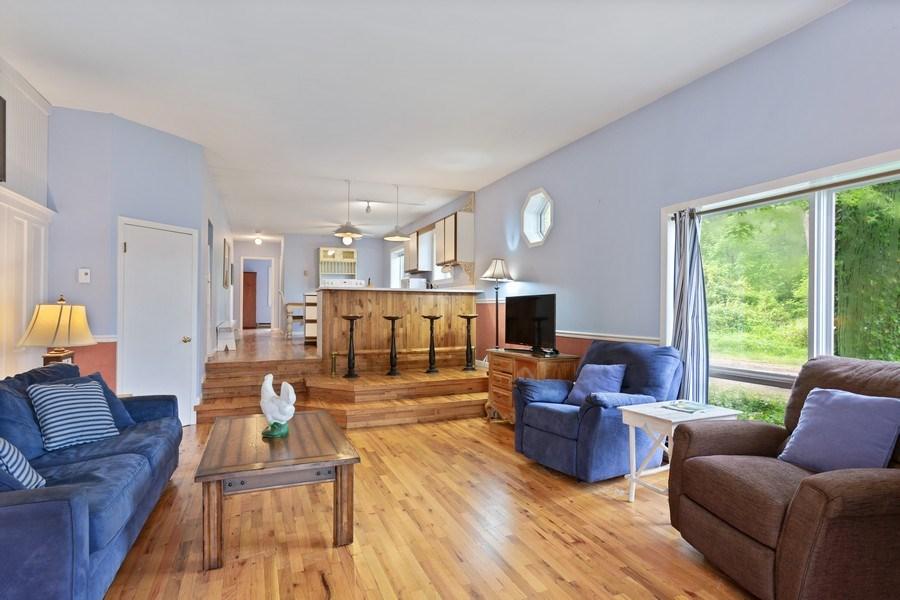 Real Estate Photography - 15775 Lakeshore Road, 1, Union Pier, MI, 49129 - Living Room