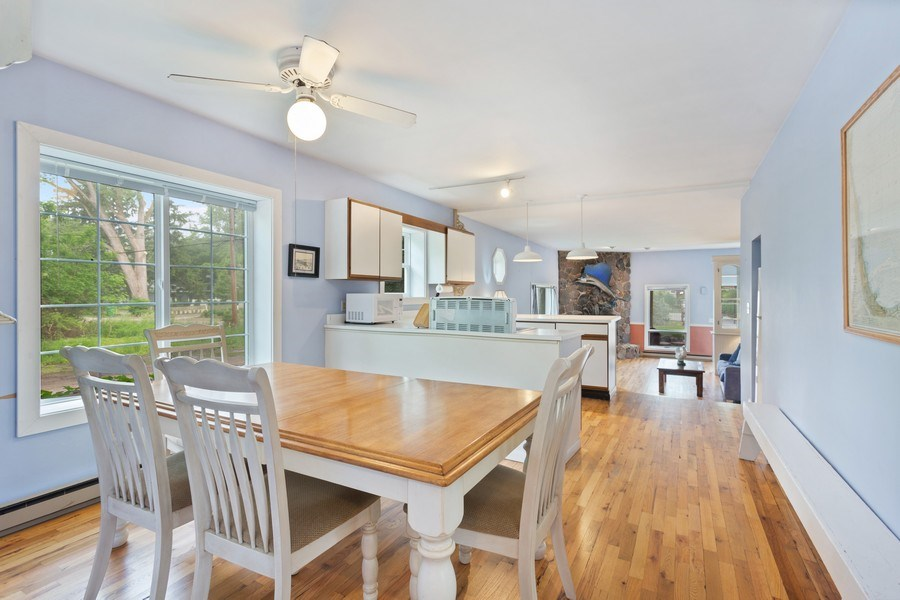 Real Estate Photography - 15775 Lakeshore Road, 1, Union Pier, MI, 49129 - Dining Room