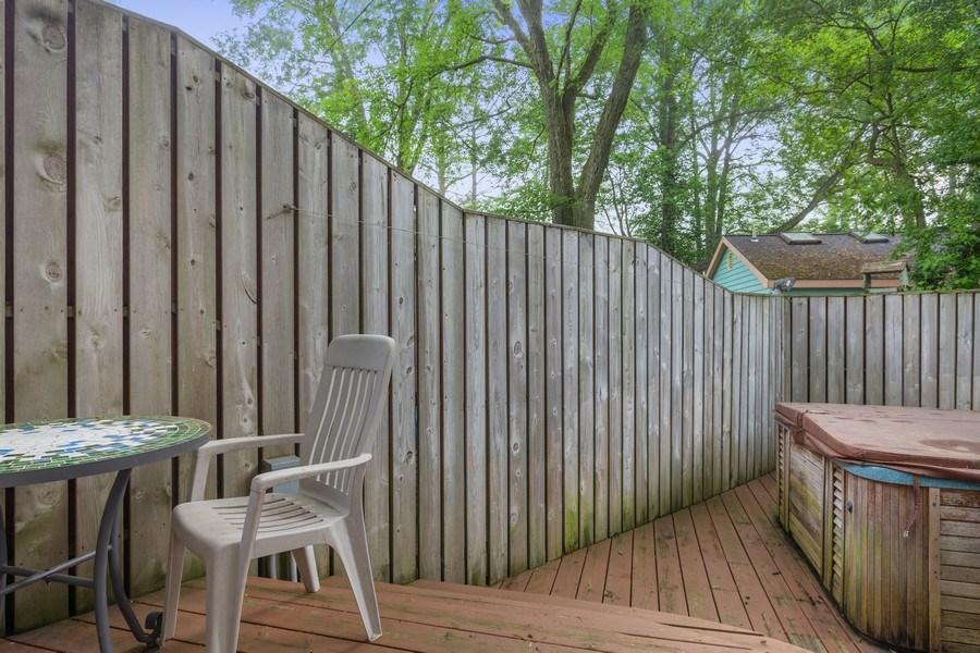 Real Estate Photography - 15775 Lakeshore Road, 1, Union Pier, MI, 49129 - Deck