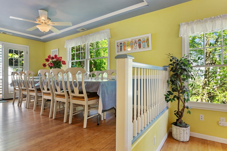 Real Estate Photography - 101 Beachwalk Ln, Michigan City, IN, 46360 - Dining Room
