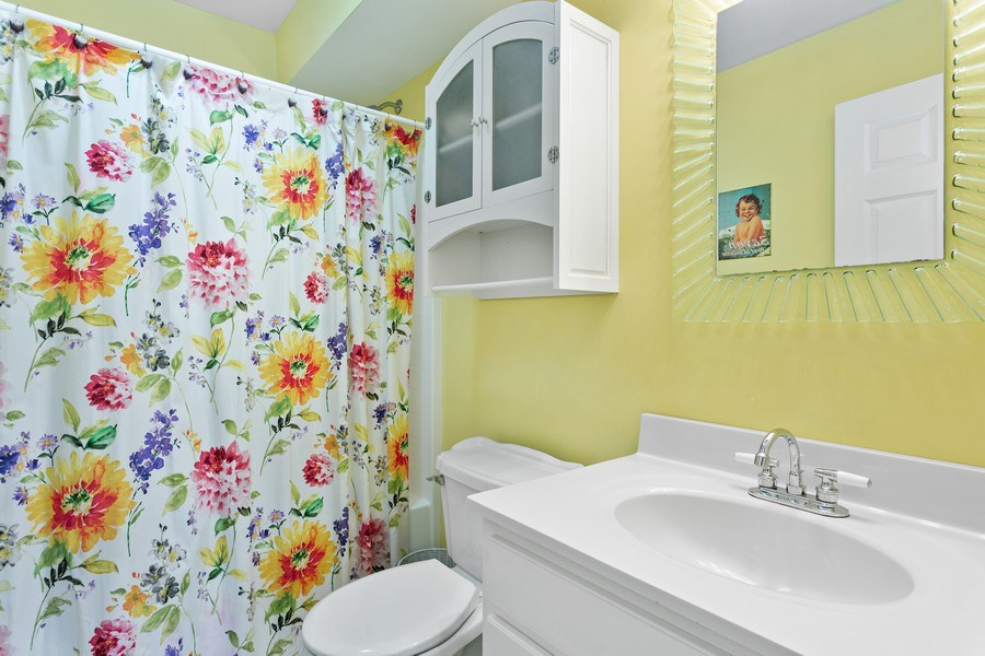 Real Estate Photography - 101 Beachwalk Ln, Michigan City, IN, 46360 - Guest House Bathroom
