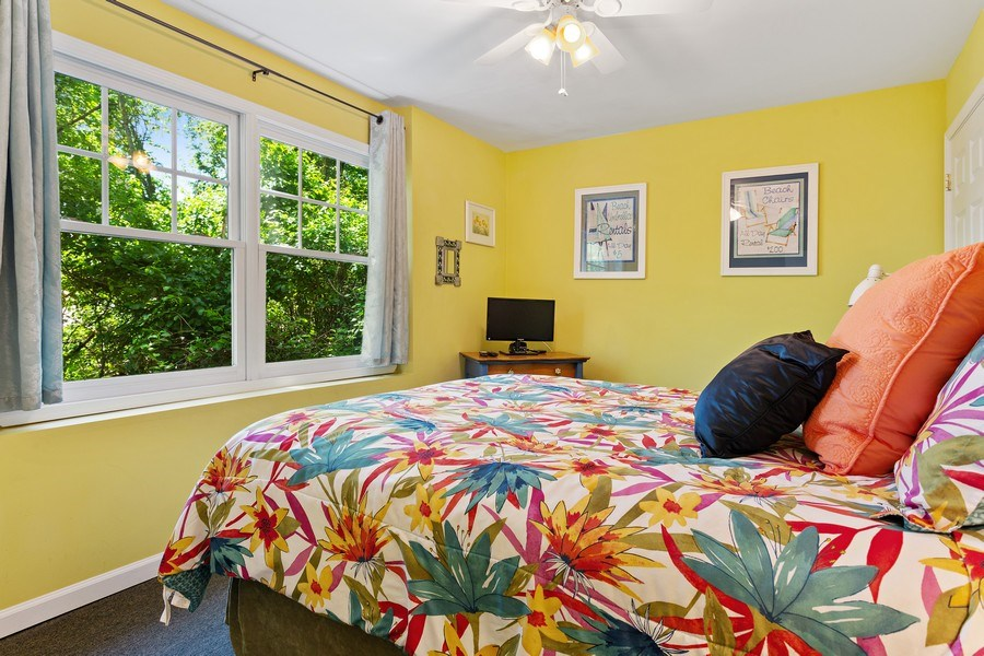 Real Estate Photography - 101 Beachwalk Ln, Michigan City, IN, 46360 - Guest House Bedroom
