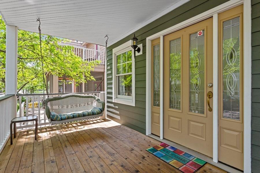 Real Estate Photography - 101 Beachwalk Ln, Michigan City, IN, 46360 - Porch