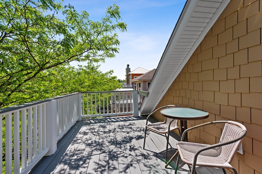 Real Estate Photography - 101 Beachwalk Ln, Michigan City, IN, 46360 - Deck