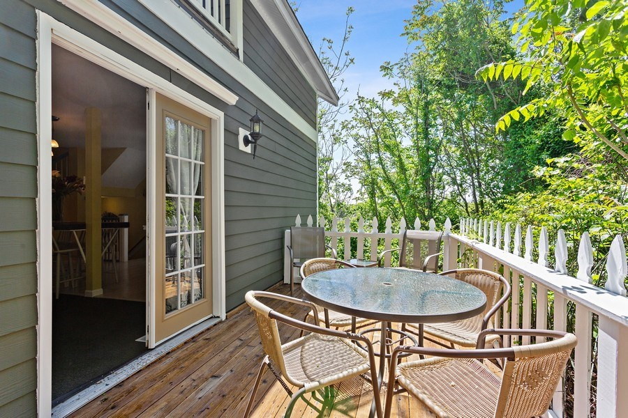 Real Estate Photography - 101 Beachwalk Ln, Michigan City, IN, 46360 - Balcony