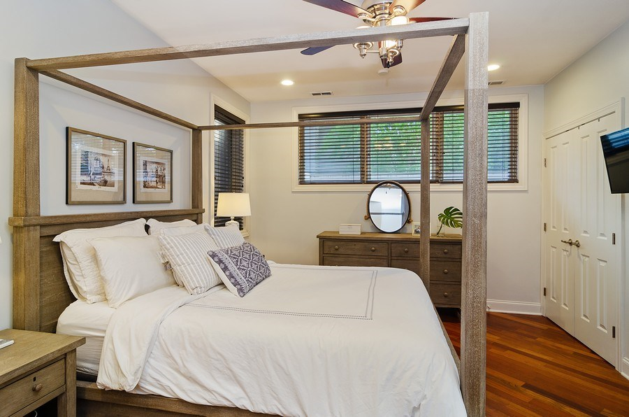 Real Estate Photography - 2241 W Wabansia Ave, Unit 101, Chicago, IL, 60647 - Master Bedroom