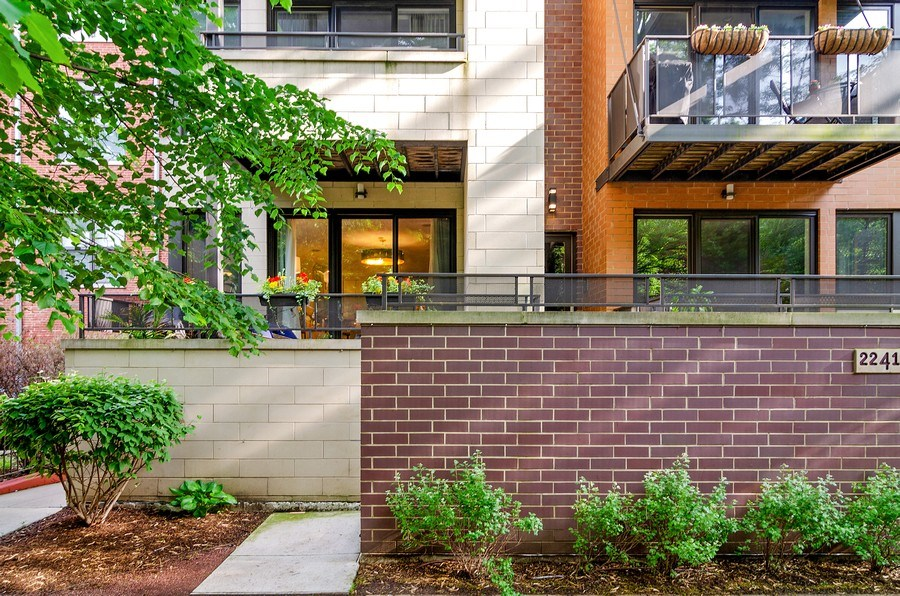 Real Estate Photography - 2241 W Wabansia Ave, Unit 101, Chicago, IL, 60647 - Front View