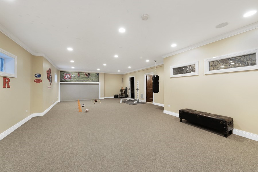 Real Estate Photography - 742 Meadow Lane, Libertyville, IL, 60048 - Exercise Room