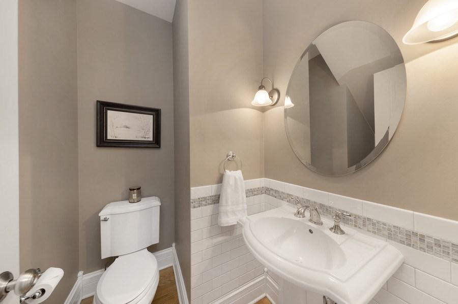 Real Estate Photography - 742 Meadow Lane, Libertyville, IL, 60048 - Half Bath