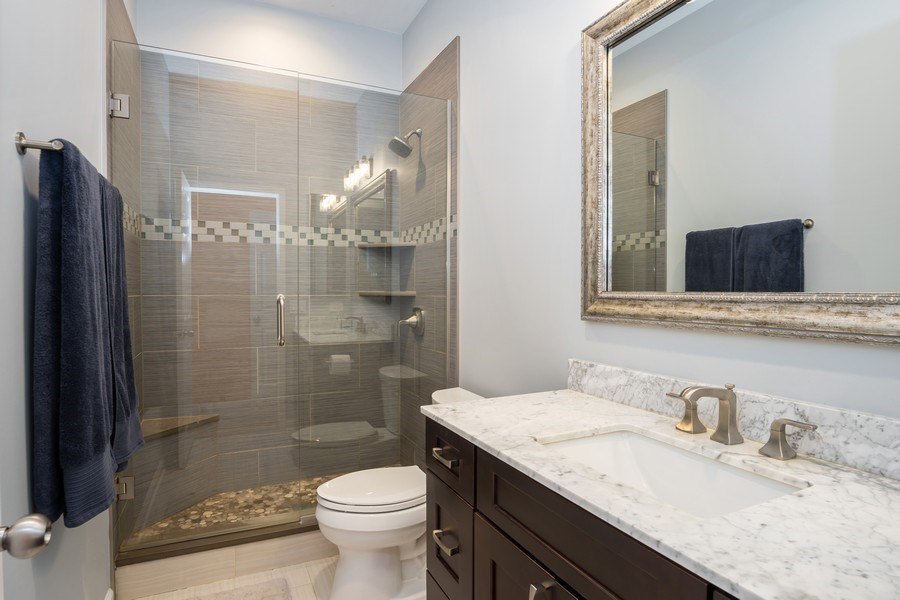 Real Estate Photography - 1947 W. Evergreen Ave., #C, Chicago, IL, 60622 - Master Bathroom