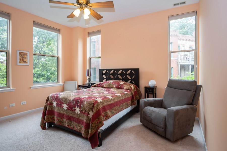 Real Estate Photography - 1947 W. Evergreen Ave., #C, Chicago, IL, 60622 - Master Bedroom
