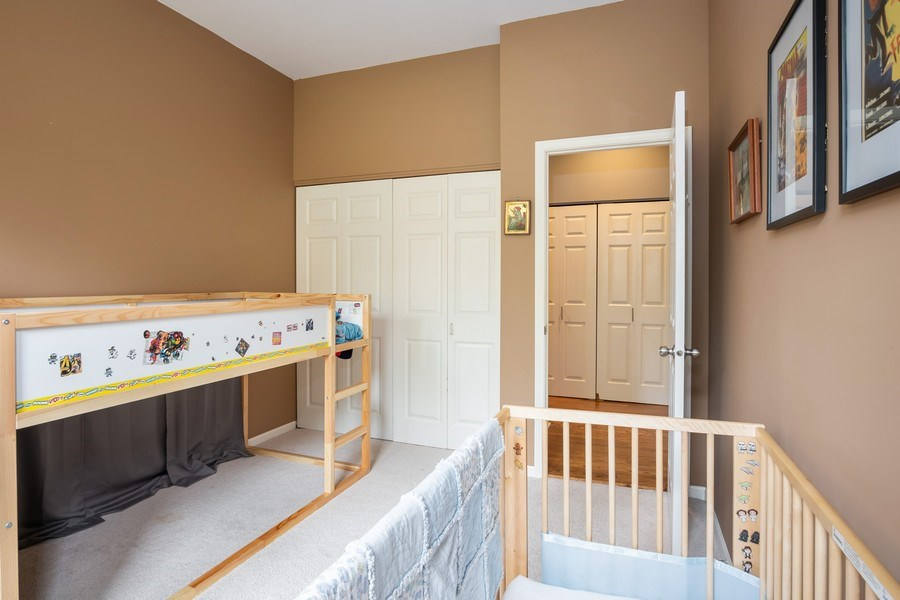 Real Estate Photography - 1947 W. Evergreen Ave., #C, Chicago, IL, 60622 - Bedroom