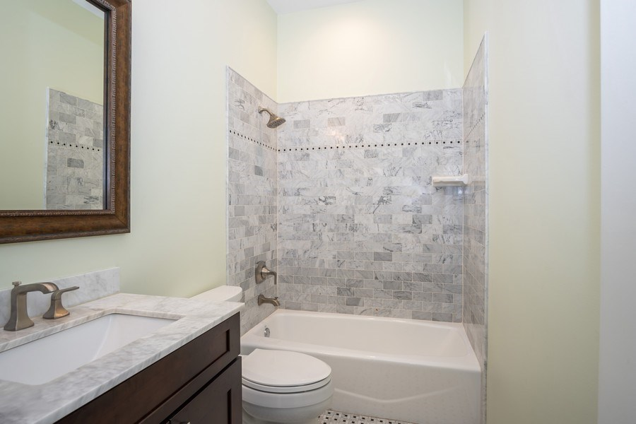 Real Estate Photography - 1947 W. Evergreen Ave., #C, Chicago, IL, 60622 - Second Bathroom