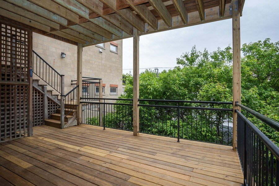 Real Estate Photography - 1947 W. Evergreen Ave., #C, Chicago, IL, 60622 - Patio