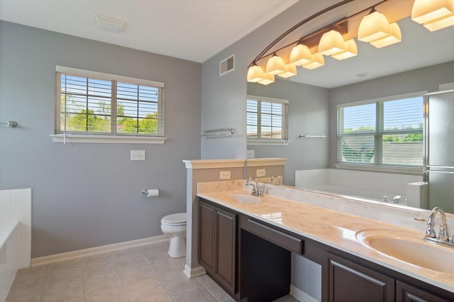 Real Estate Photography - 416 Farnsworth Circle, Port Barrington, IL, 60010 - Master Bathroom