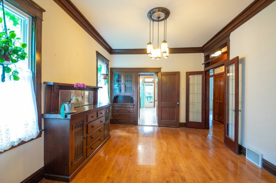 Real Estate Photography - 4834 N Leavitt St, Chicago, IL, 60625 - Dining Room