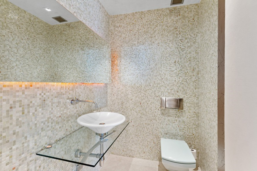 Real Estate Photography - 800 N Michigan Ave, 3301, Chicago, IL, 60611 - Bathroom