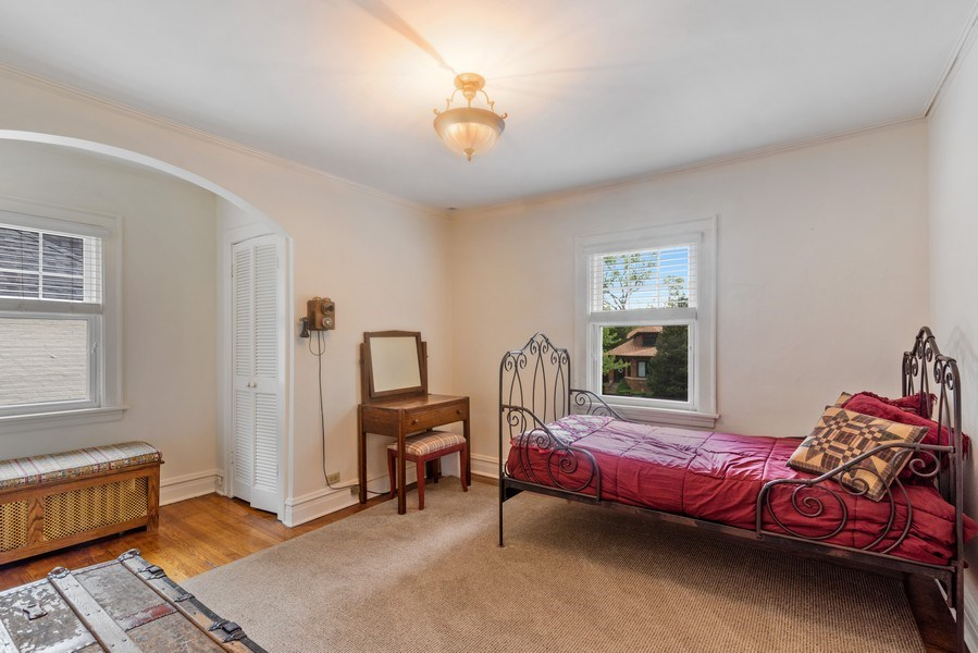 Real Estate Photography - 211 N Merrill, Park Ridge, IL, 60068 - 2nd Bedroom