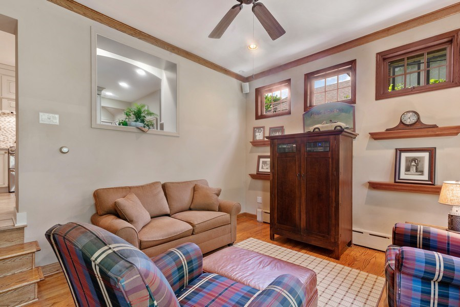 Real Estate Photography - 211 N Merrill, Park Ridge, IL, 60068 - Family Room