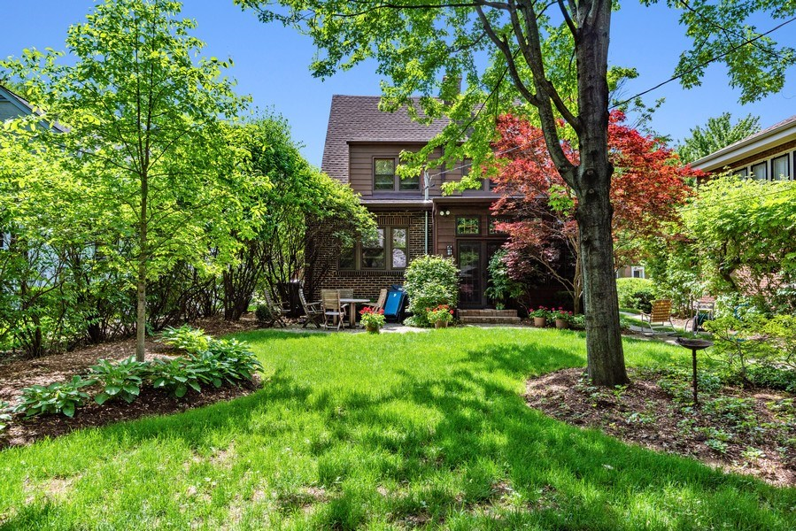 Real Estate Photography - 211 N Merrill, Park Ridge, IL, 60068 - Rear View