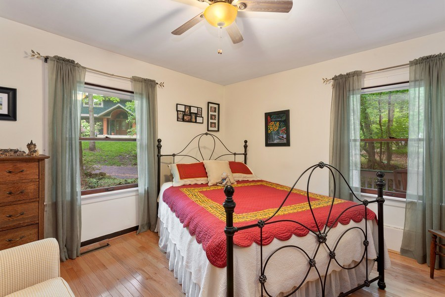 Real Estate Photography - 3501 Calumet, Duneland Beach, IN, 46360 - Master Bedroom