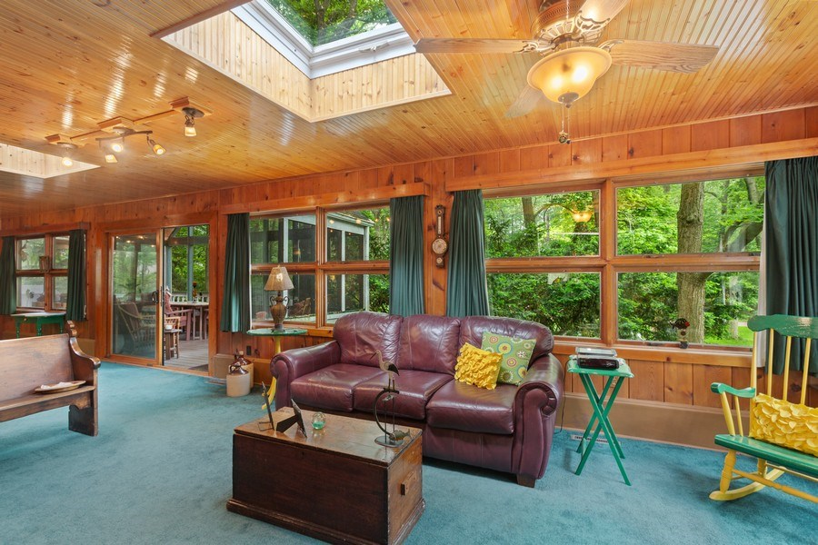 Real Estate Photography - 3501 Calumet, Duneland Beach, IN, 46360 - Family Room