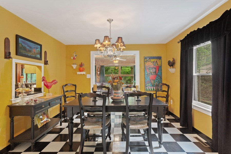 Real Estate Photography - 3501 Calumet, Duneland Beach, IN, 46360 - Dining Room