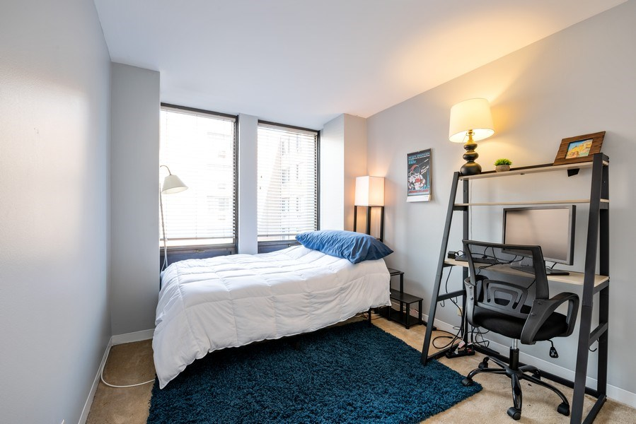 Real Estate Photography - 444 W. Fullerton, #401, Chicago, IL, 60614 - Bedroom