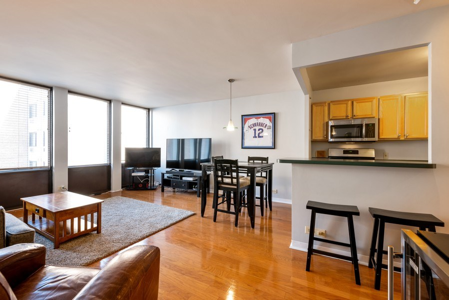 Real Estate Photography - 444 W. Fullerton, #401, Chicago, IL, 60614 - Kitchen / Dining Room