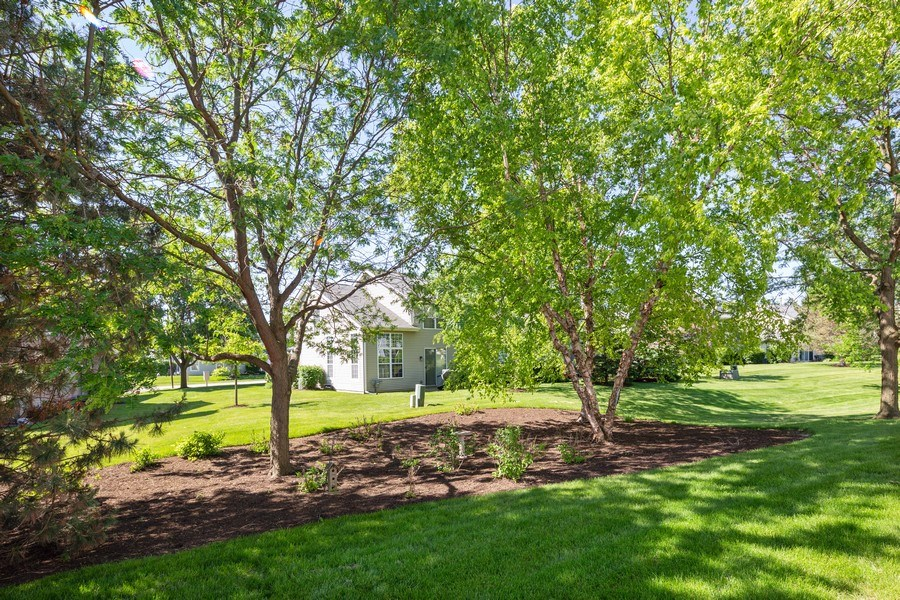 Real Estate Photography - 1395 Grandview Ct, Algonquin, IL, 60102 - Back Yard