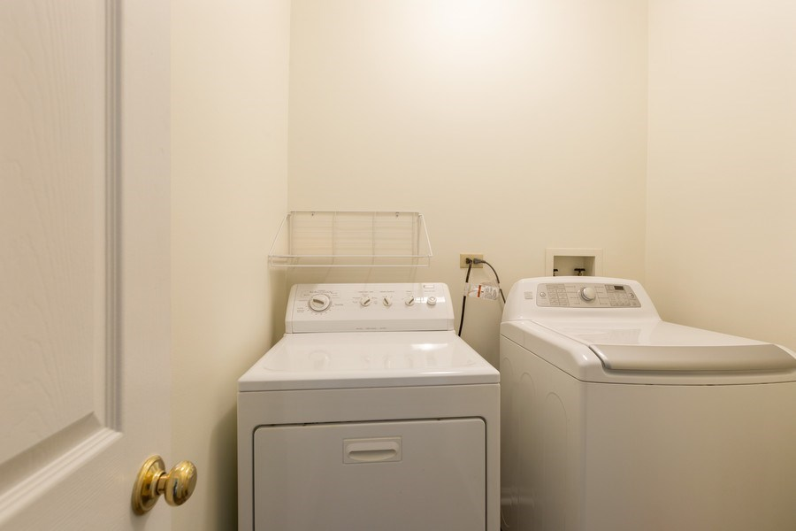 Real Estate Photography - 1395 Grandview Ct, Algonquin, IL, 60102 - Laundry Room
