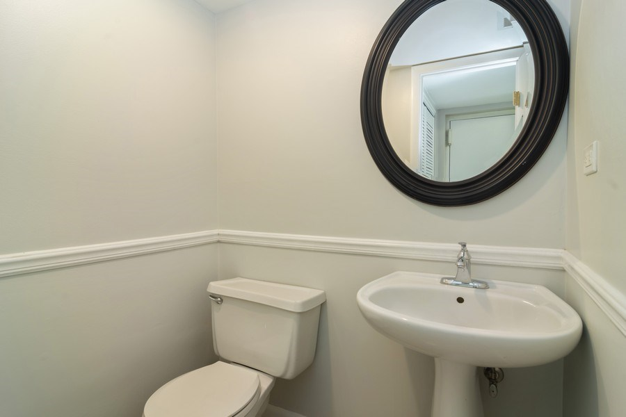 Real Estate Photography - 1328 Alpine Ct, Wheeling, IL, 60090 - Half Bath
