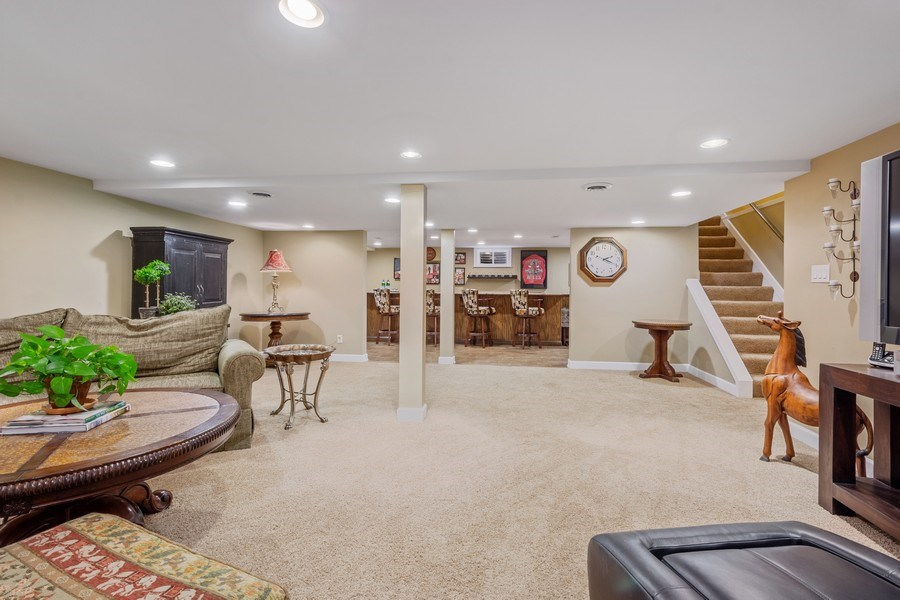 Real Estate Photography - 124 Vance Ct, Lake Barrington, IL, 60010 - Recreation Room