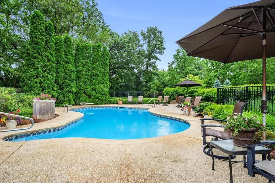 Real Estate Photography - 124 Vance Ct, Lake Barrington, IL, 60010 - Pool