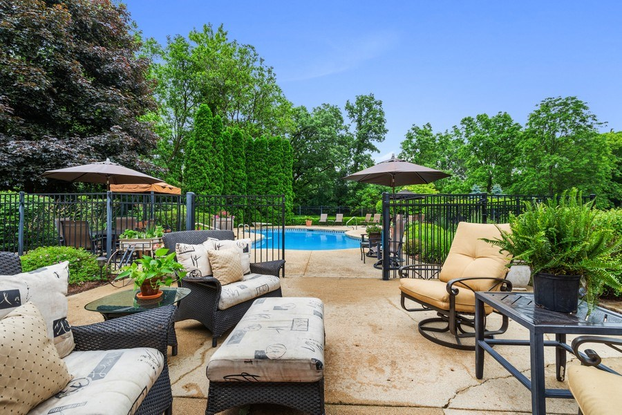 Real Estate Photography - 124 Vance Ct, Lake Barrington, IL, 60010 - Patio & Pool