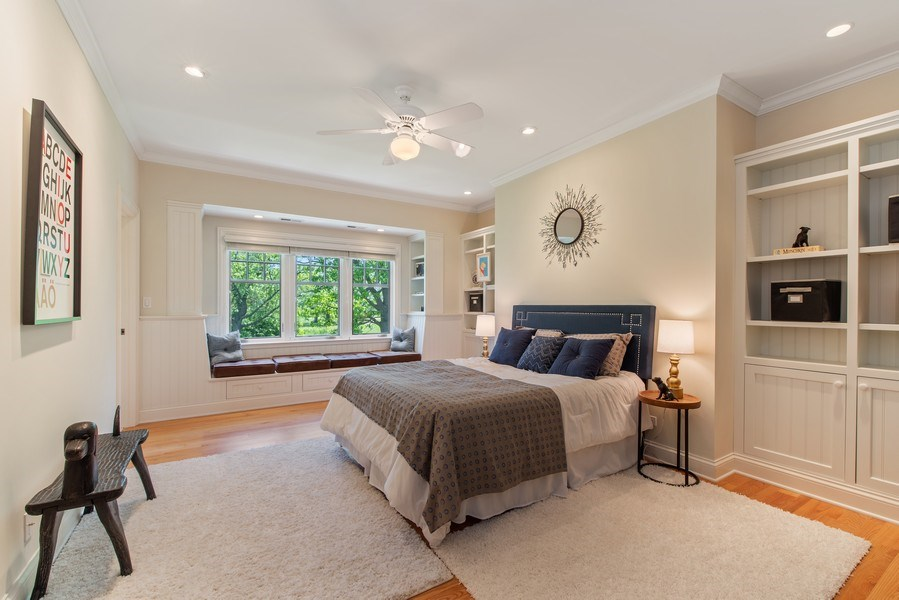 Real Estate Photography - 1655 Monterey Dr, Glenview, IL, 60026 - 2nd Bedroom