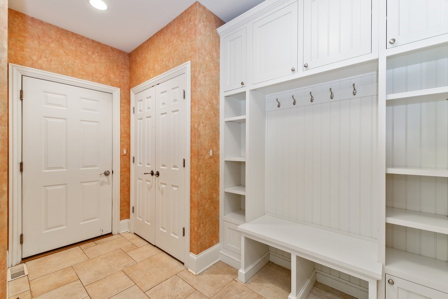 Real Estate Photography - 1655 Monterey Dr, Glenview, IL, 60026 - Mudroom