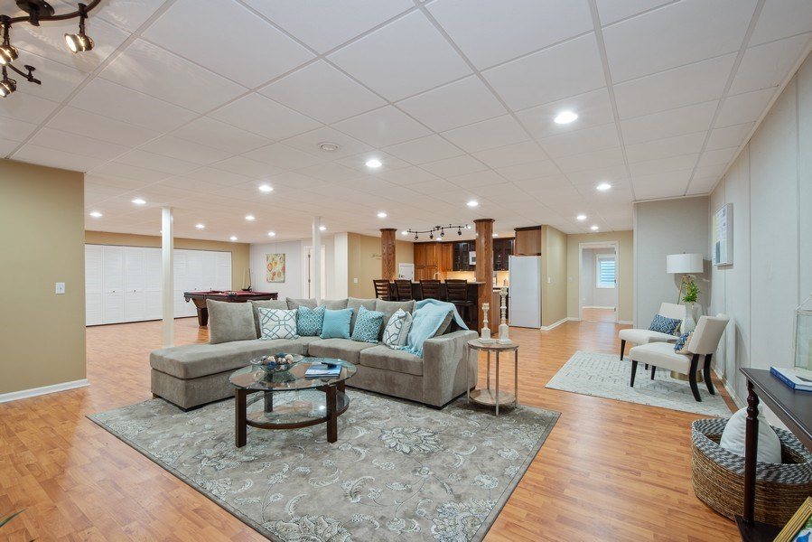 Real Estate Photography - 1655 Monterey Dr, Glenview, IL, 60026 - Basement
